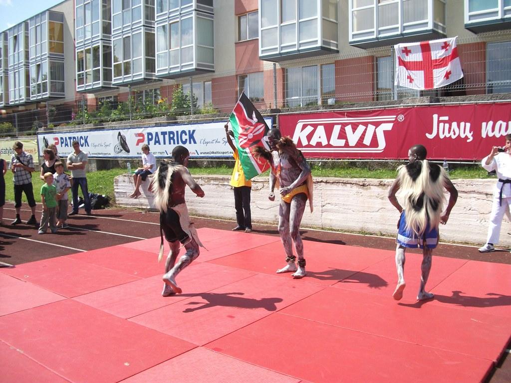 afrykanski taniec na igrzyskach sportow tradycyjnych