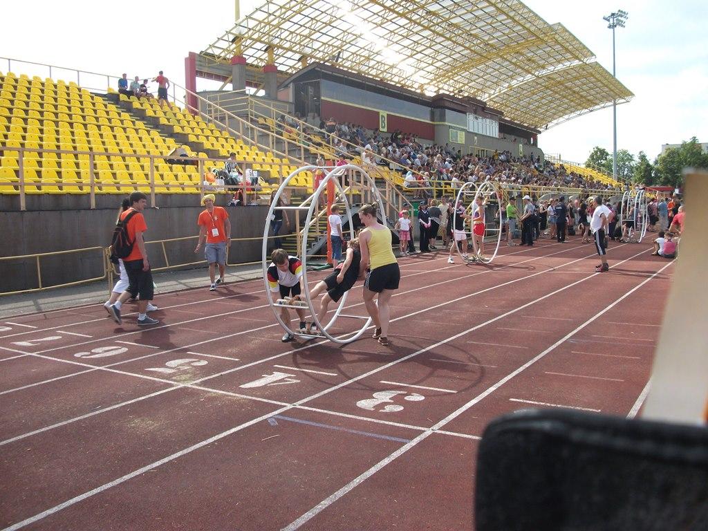 akrobatyka niemiecka na igrzyskach sportow tradycyjnych