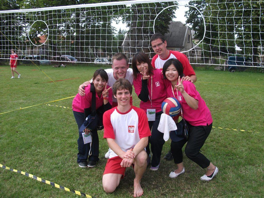 integracja międzykulturowa na igrzyskach sportow tradycyjnych - Litwa, 2012