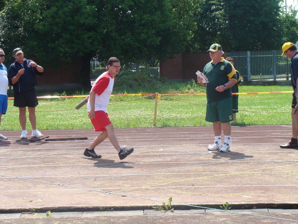 podczas gry w jukuskei na igrzyskach sportow tradycyjnych na Litwie
