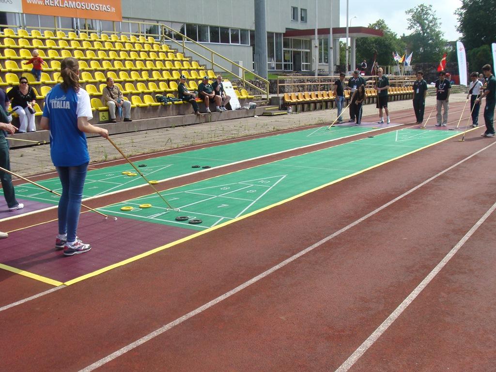 shuffleboard na igrzyskach sportow tradycyjnych na litwie