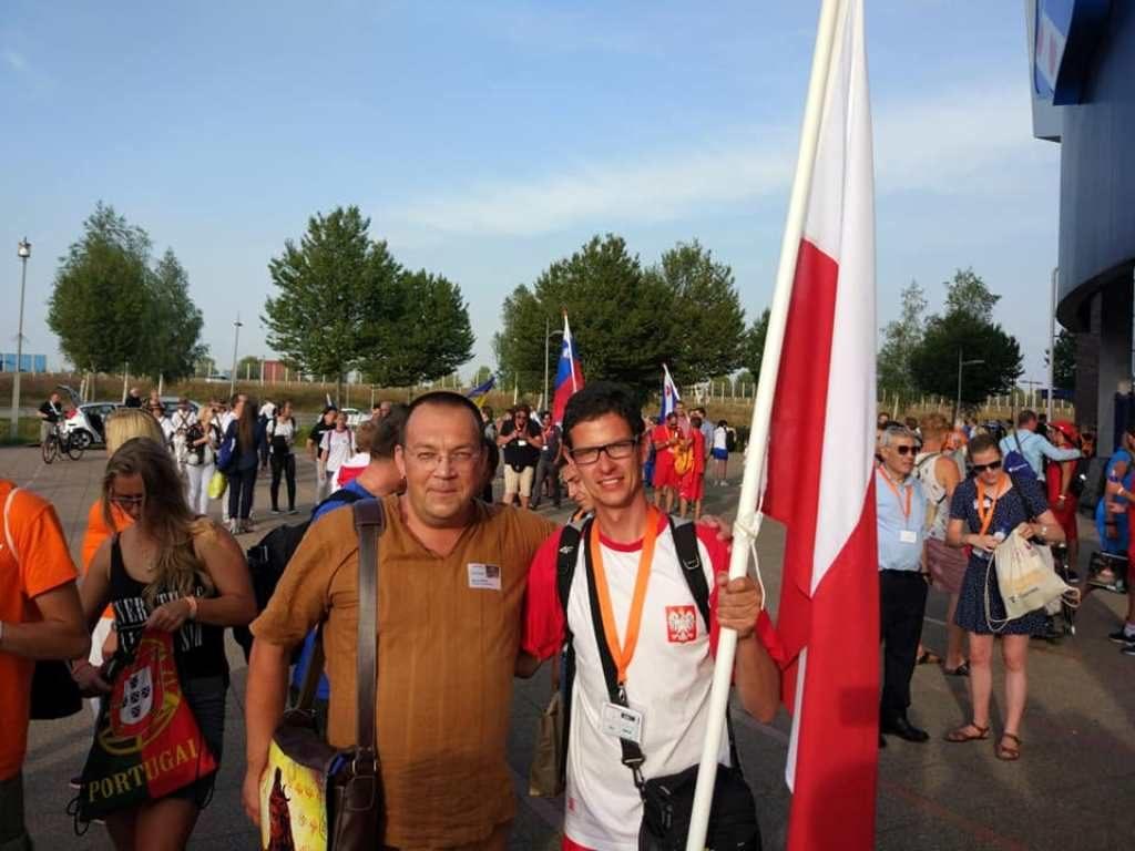 Bartosz Prabucki z Alexeyem Kylasovem