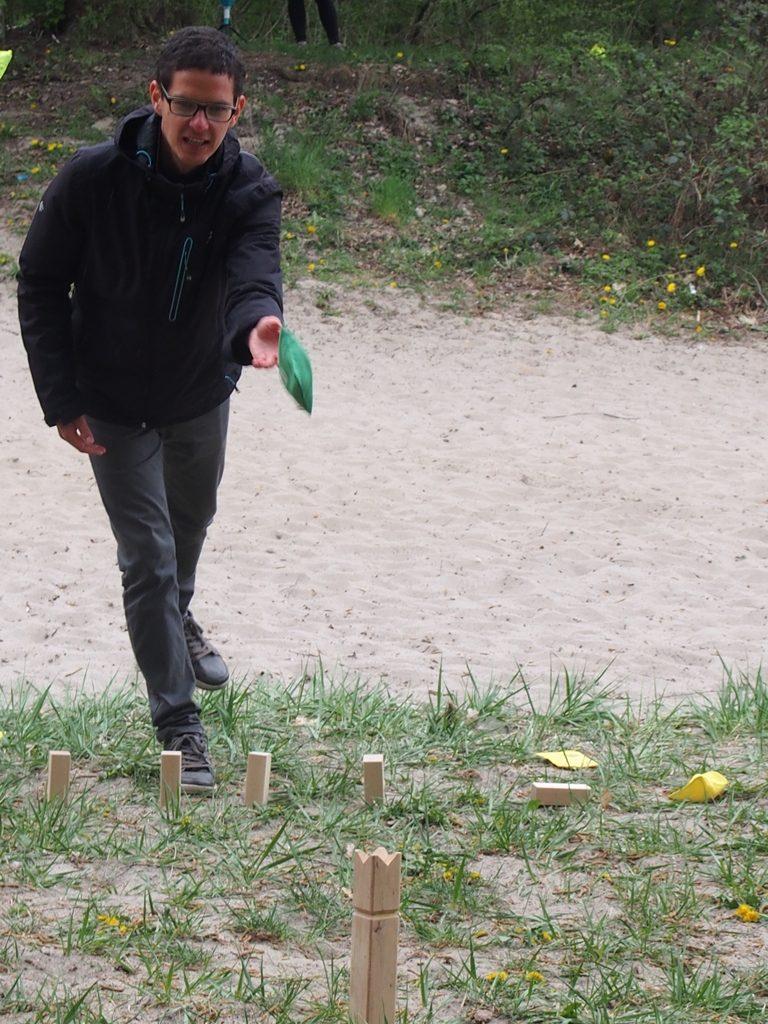 Inspirowany sportem - gra w kubba