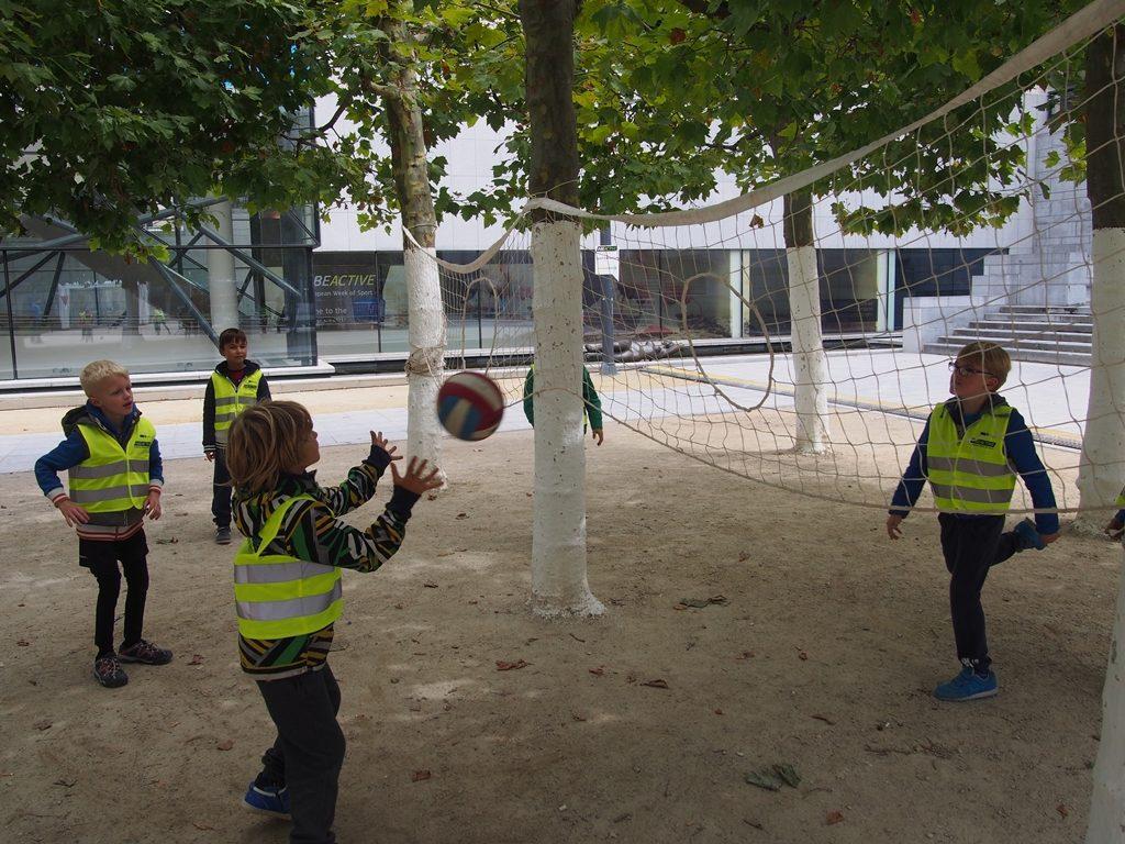 Pierścieniówka - Europejski Tydzień Sportu w Brukseli