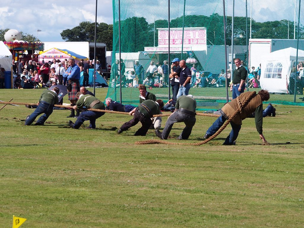 przeciąganie liny - Highland Games