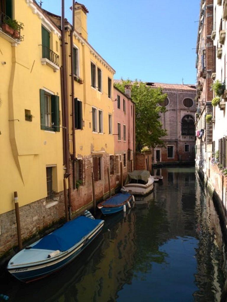 Wenecja - kanał2