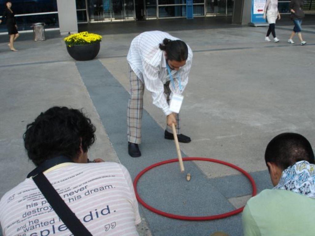 sztekiel w Pusan, Korea