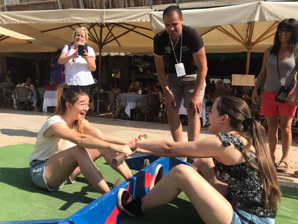 uczestnicy youth exchange na festiwalu Tocati