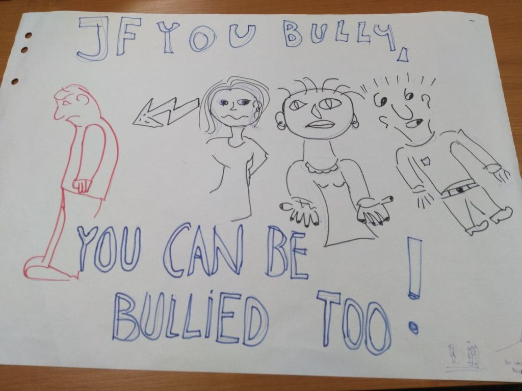 plakat - projekt bullying
