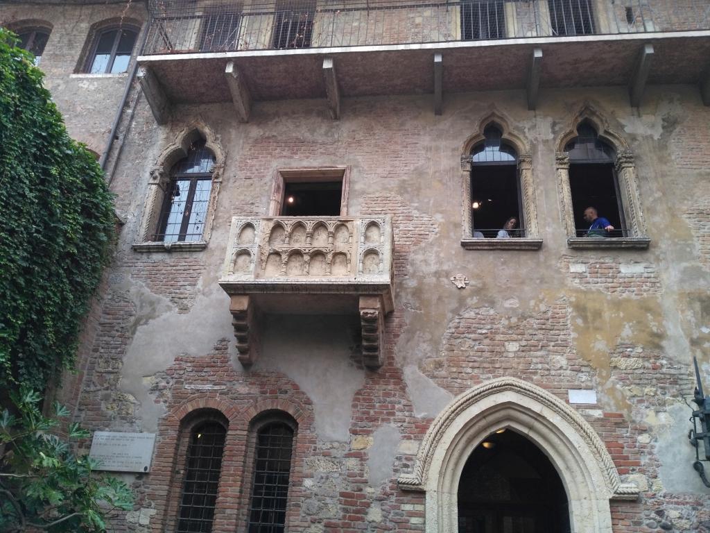 Werona - balkon Julii2