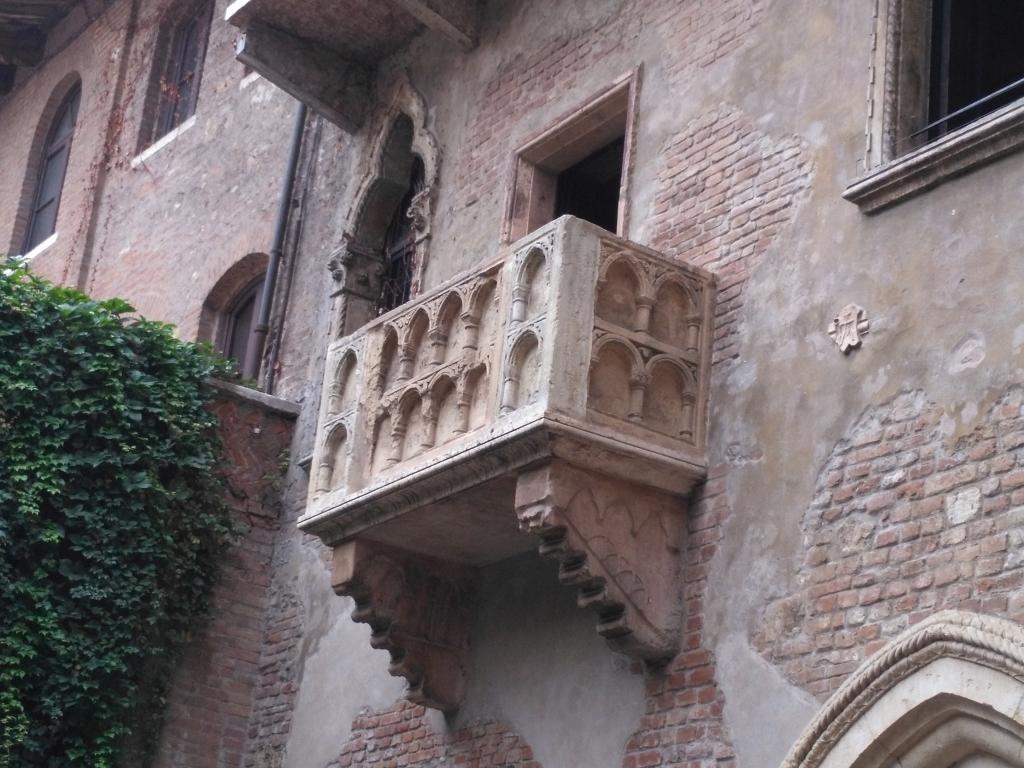Werona - balkon Julii