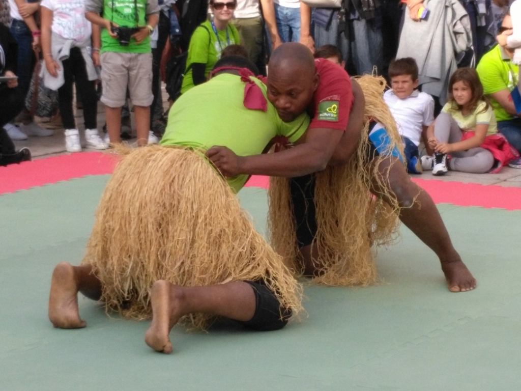 traditional wrestling - Kabubu