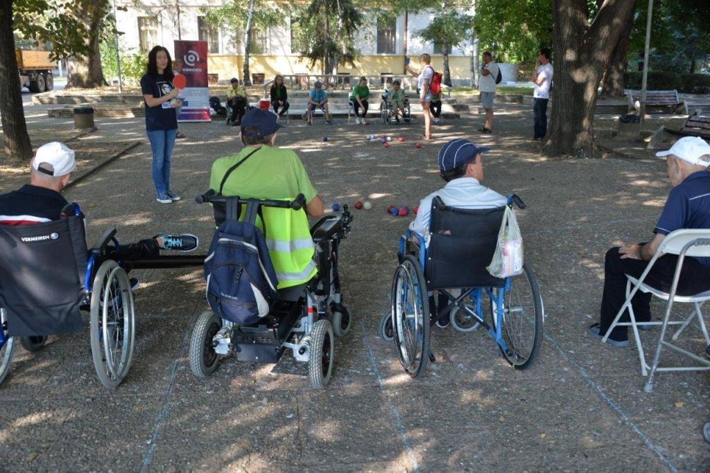 boccia osób z niepełnosprawnościami